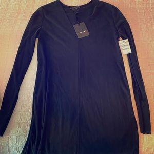 New black Trouve shirt/shirt dress.